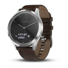 Часы Garmin Vivomove HR Premium Black / Silver (010-01850-24)