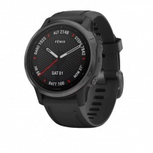 Garmin FENIX 6S Sapphire серый DLC с черным ремешком (010-02159-25)