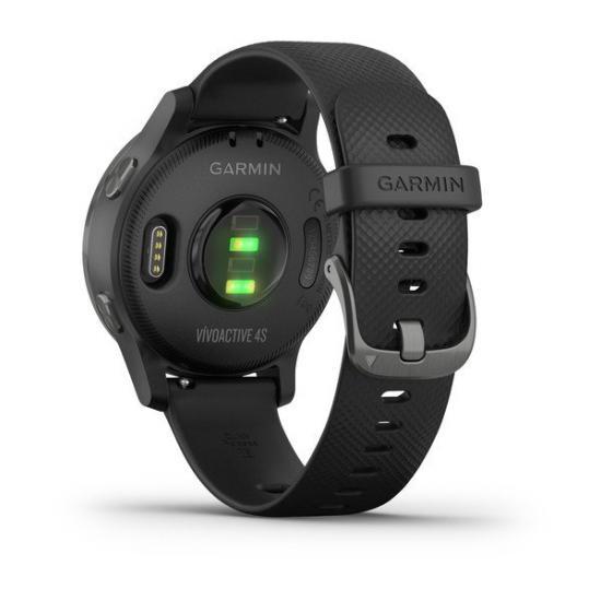 Часы Garmin VIVOACTIVE 4S черные с серым безелем (010-02172-13)