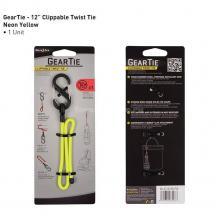 Крепеж Gear Tie Clippable Twist Tie 12