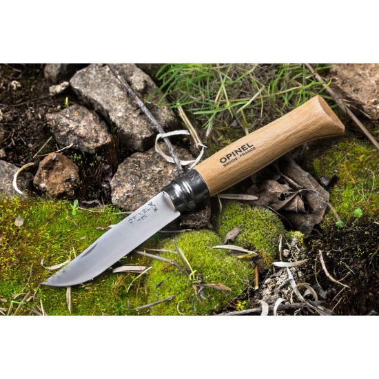 Нож OPINEL №8  нержавеющая сталь, бук