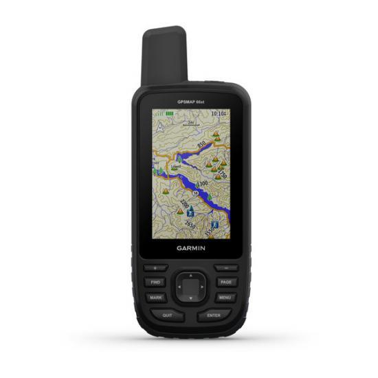 Портативный навигатор Garmin GPSMAP 66ST