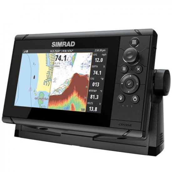 Simrad Cruise 7, ROW Base Chart, 83/200 XDCR
