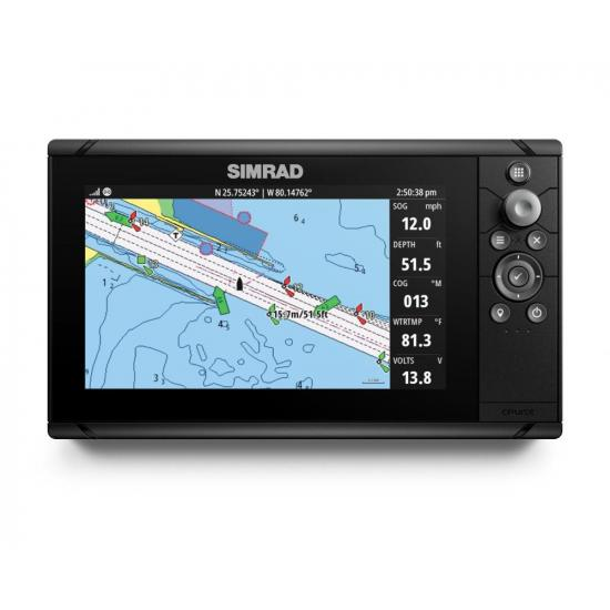 Simrad Cruise 9, ROW Base Chart, 83/200 XDCR