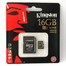 16GB microSDHC, Class 10, Kingston UHS-1 90\45 MB/s