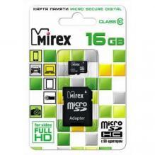Карта памяти SD/microSD 16 Gb (10 кл.)