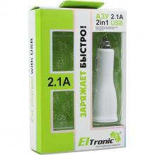 АЗУ Eltronic универсальное 2 USB (2100mAh)