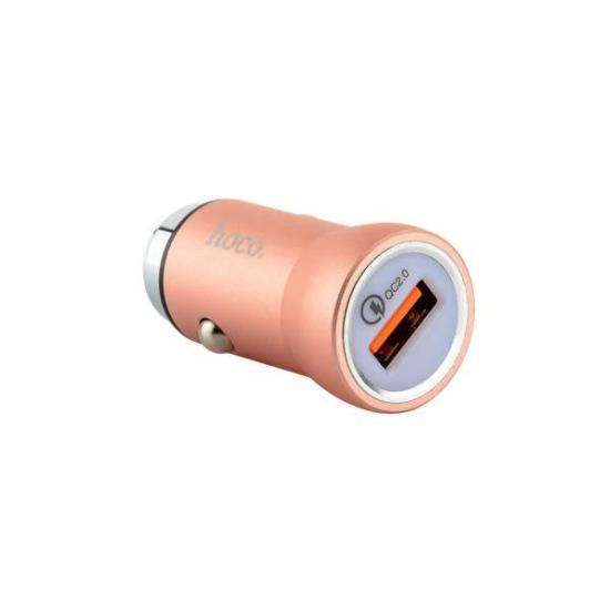 АЗУ HOCO Z4 USB (2.1A) Розовое золото