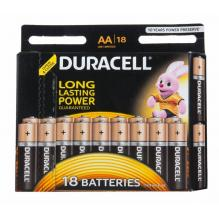 Батарейка Duracell LR06 Alkaline Basic BL-18 AA
