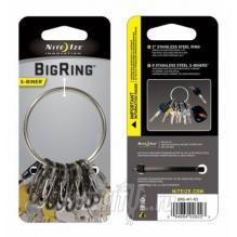 Брелок для ключей Niteize BigRing стальной