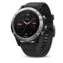 Часы Garmin Fenix 5 Glass Black/Silver (010-01688-03)