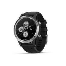 Часы GARMIN Fenix 5x Plus, Sapphire, Black w/BlkBnd (010-01989-01)