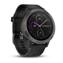 Часы Garmin Vivoactive 3 BLK Silicon Slate (010-01769-12)