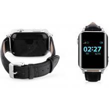 Детские часы с телефоном и GPS трекером Wonlex Smart Age Watch EW200 черные