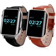 Детские часы с телефоном и GPS трекером Wonlex Smart Age Watch EW200 Коричневые