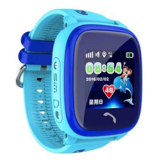 Детские часы- телефон Wonlex GW400S Голубые
