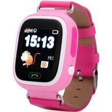 Детские часы с телефоном и GPS трекером Wonlex Smart Baby Watch GW100 Pink