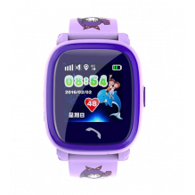 Wonlex Smart Baby Watch GW400S Фиолетовые