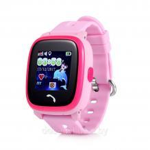 Детские часы с телефоном и GPS трекером Wonlex Smart Baby Watch GW400S PINK