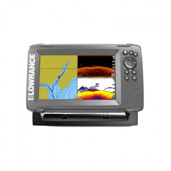 Эхолот-картплоттер Lowrance HOOK2-7 Splitshot US Costal/ROW