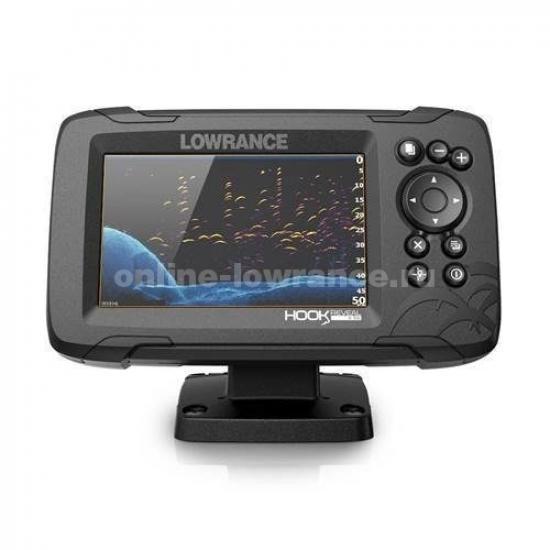 Эхолот-картплоттер Lowrance HOOK REVEAL 5 83/200 HDI ROW