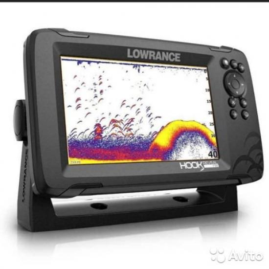Эхолот-картплоттер Lowrance HOOK REVEAL 7 83/200 HDIROW