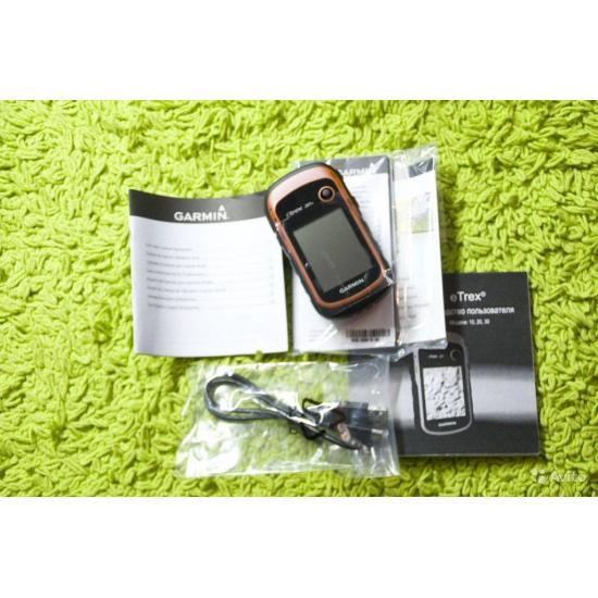 Garmin eTrex 20x GPS, GLONASS Russia - Туристический навигатор