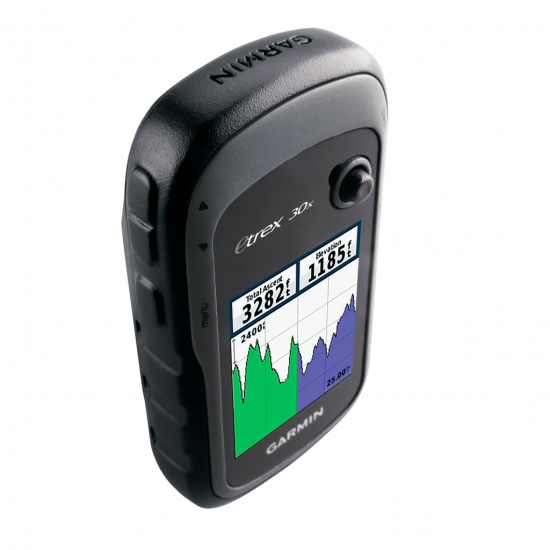 Garmin eTrex 30x GPS, GLONASS Russia - Туристический навигатор