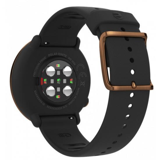 Фитнес-часы с монитором сердечного ритма POLAR IGNITE Black Copper