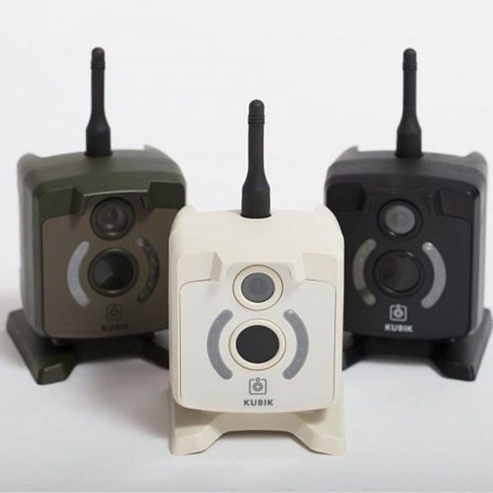 Фотоловушка KUBIK поддержка 2G, Bluetooth, цвет корпуса черный