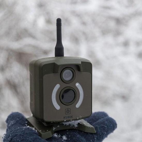 Фотоловушка KUBIK поддержка 2G, Bluetooth, цвет корпуса зеленый
