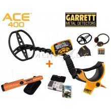 Грунтовой металлодетектор Garrett ACE 400I (комплект с пинпоинтером)