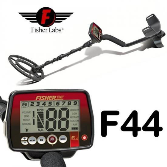 Грунтовый металлодетектор Fisher F44