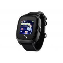 Детские часы с телефоном и GPS трекером Wonlex Smart Baby Watch GW400s Black