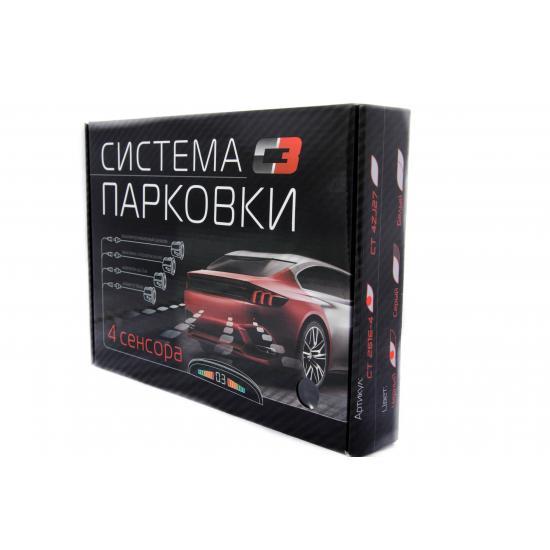 Парктроник СТ 2616-4 (4 датчика) черный