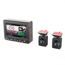 Видеорегистратор с двумя камерами INSPECTOR SCIROCCO