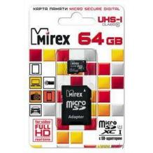 Карта памяти SD/microSD 64 Gb (10 кл.)