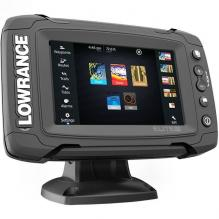 Картплоттер Lowrance Elite -5Ti MID/HIGH/DownScan