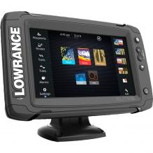 Картплоттер Lowrance Elite-7 Ti Mid\High\TotalScan