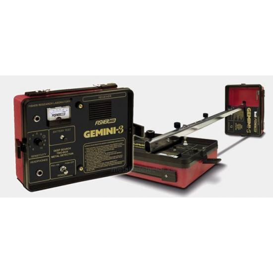 Глубинный металлодетектор Fisher GEMINI 3
