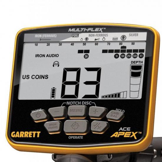 Металлоискатель Garret ACE Apex с беспроводными наушниками
