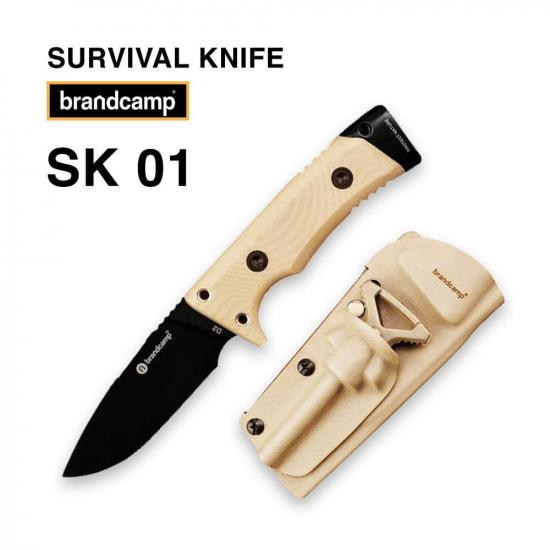 Нож выживания BRANDCAMP SK-01