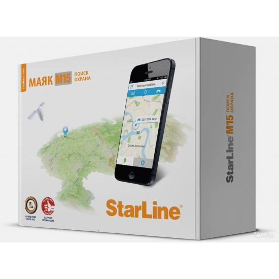 Охранный поисковый модуль STARLINE M15 GPS/Глонасс+ (sim-карта МТС)