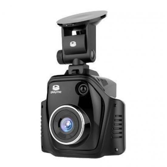 Видеорегистратор с радар-детектором Playme Turbo SUPER HD GPS (3 в 1)