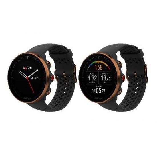 Часы с монитором сердечного ритма POLAR VANTAGE M Black Copper