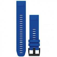 Ремешок сменный QuickFit 22 мм (силикон) BLUE (OEM)