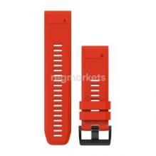 Ремешок сменный QuickFit 22 мм (силикон) RED (OEM)