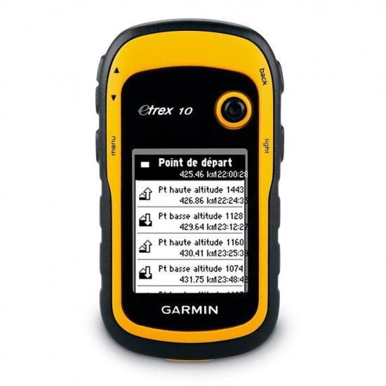 Garmin eTrex 10 - Туристический навигатор