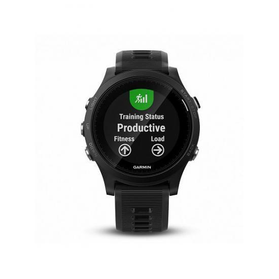 Спортивные часы GARMIN Forerunner 935 черно-серые (010-01746-04)