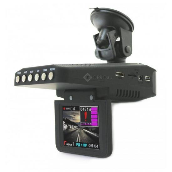 Видеорегистратор с радар-детектором 3 в 1 Subini STR835RU